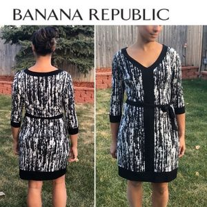 Banana Republic Pattern Dress